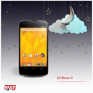 LG Nexus 4 por apenas R$999,00