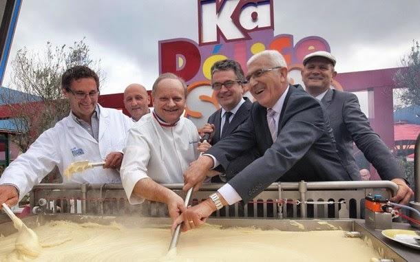 5. O maior purê de batata do mundo