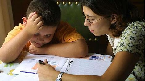 10 errores de los papas al hacer los deberes con sus hijos
