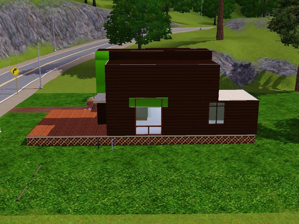 SIMSiLove Modern House SIMS 3 Tutorial