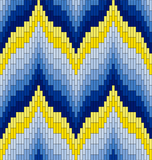 Textile Arts Now Bargello Patterns