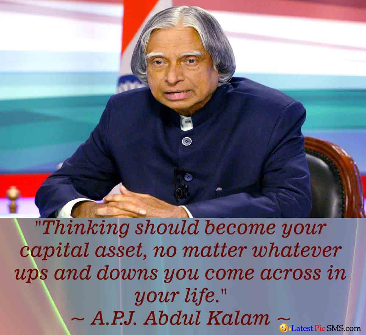 A.P.J. Abdul Kalam Life Thought