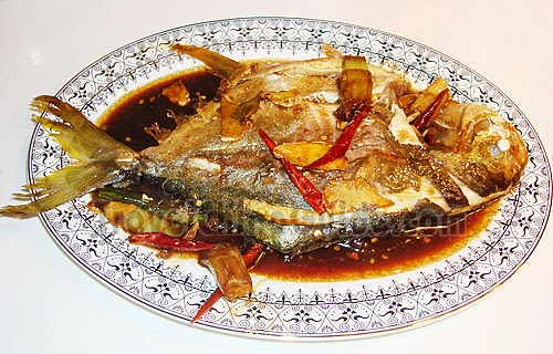 Braised Pomfret Completed