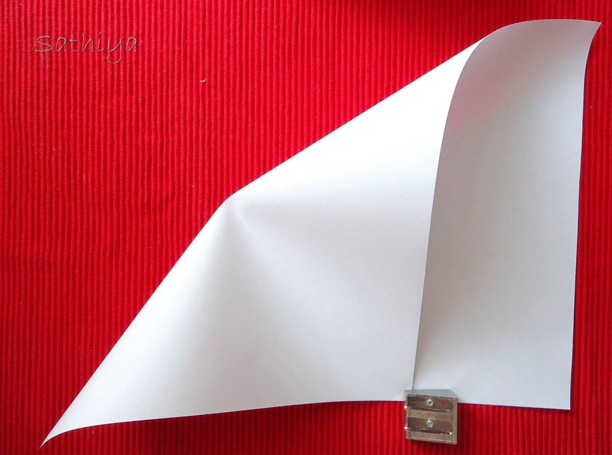 Brief Falten Markierung : Wie samt und seide gefalteter brief origami