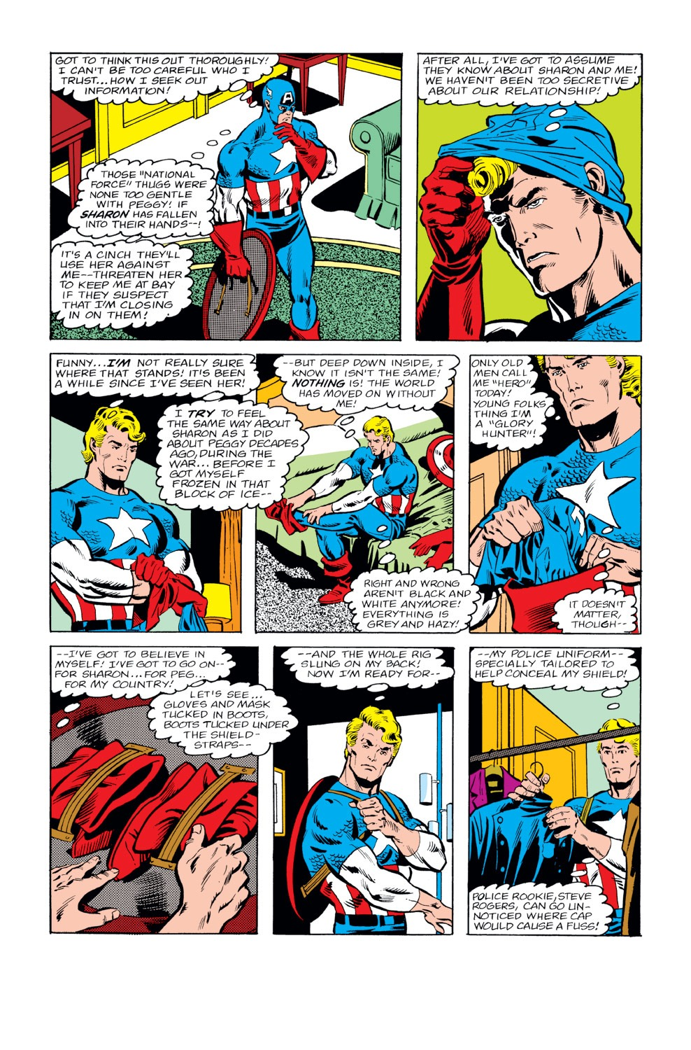 Captain America (1968) Issue #232 #147 - English 9