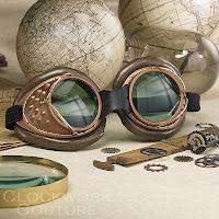 Steampunk Goggles Present