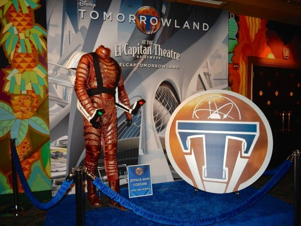 Original Tomorrowland jetpack man costume