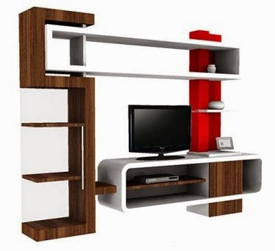 Model Lemari Rak Tv Minimalis Modern