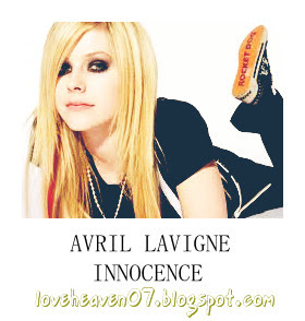 avril lavigne-innocence (lyric)