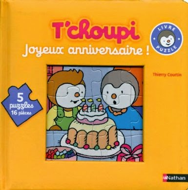Tchoupi 2 anniversaires de marriage