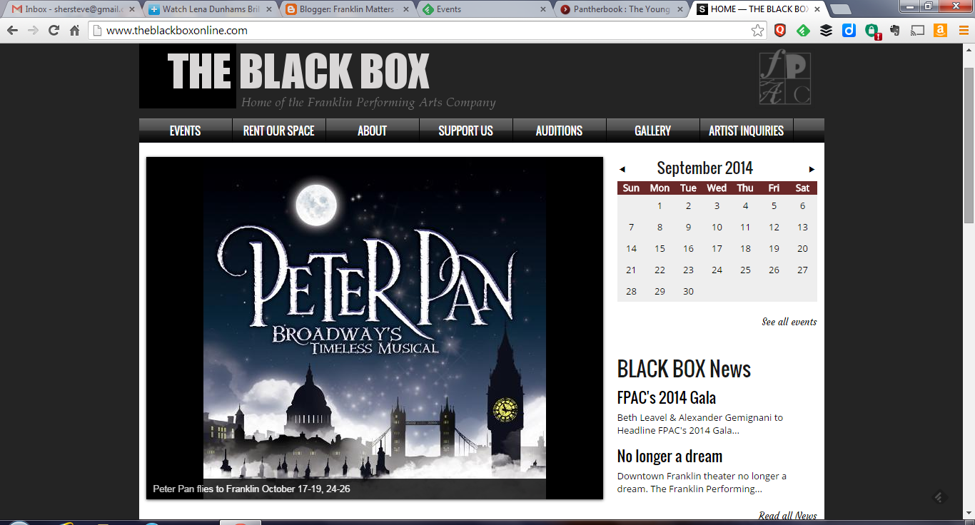 Tickets are available for Peter Pan