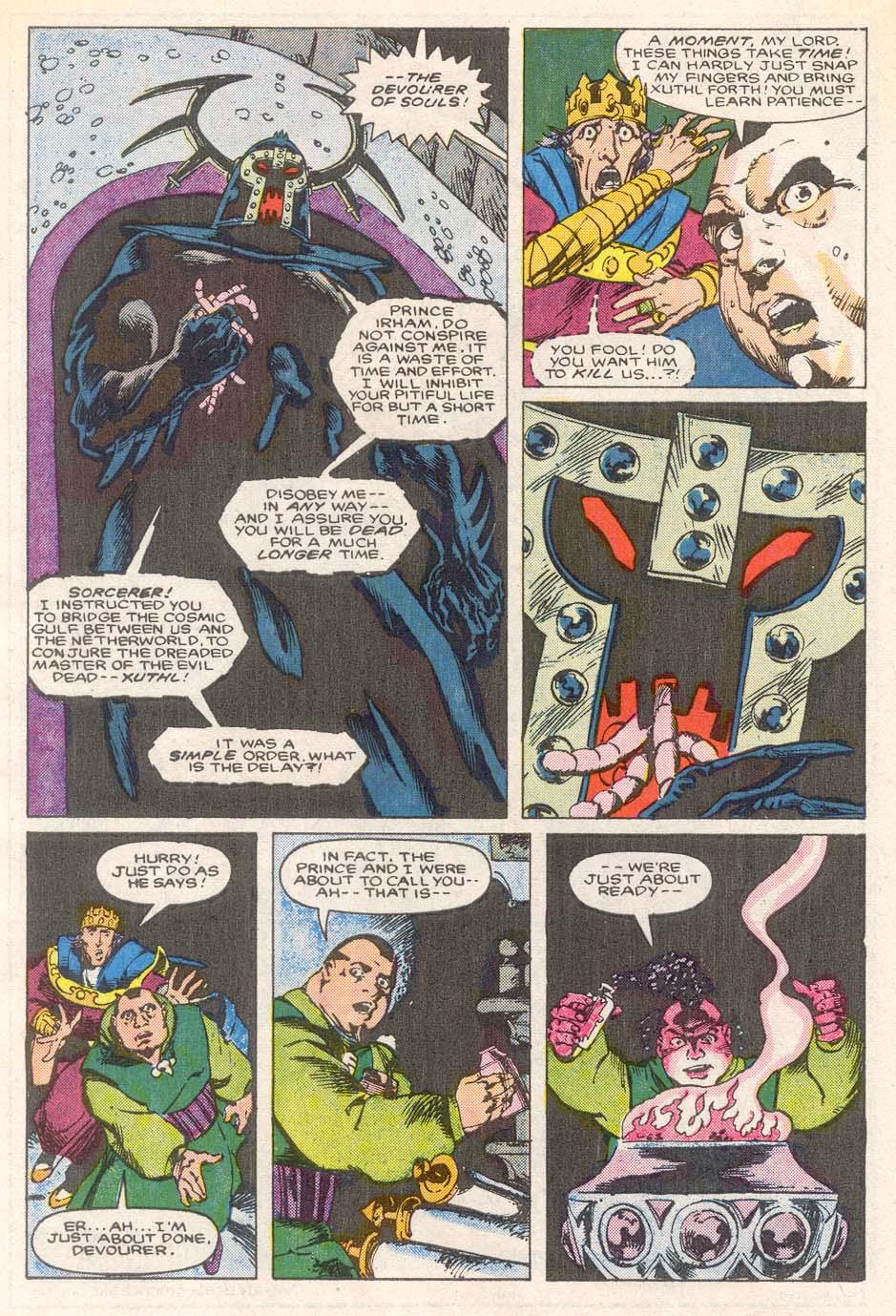 Conan the Barbarian (1970) Issue #193 #205 - English 6