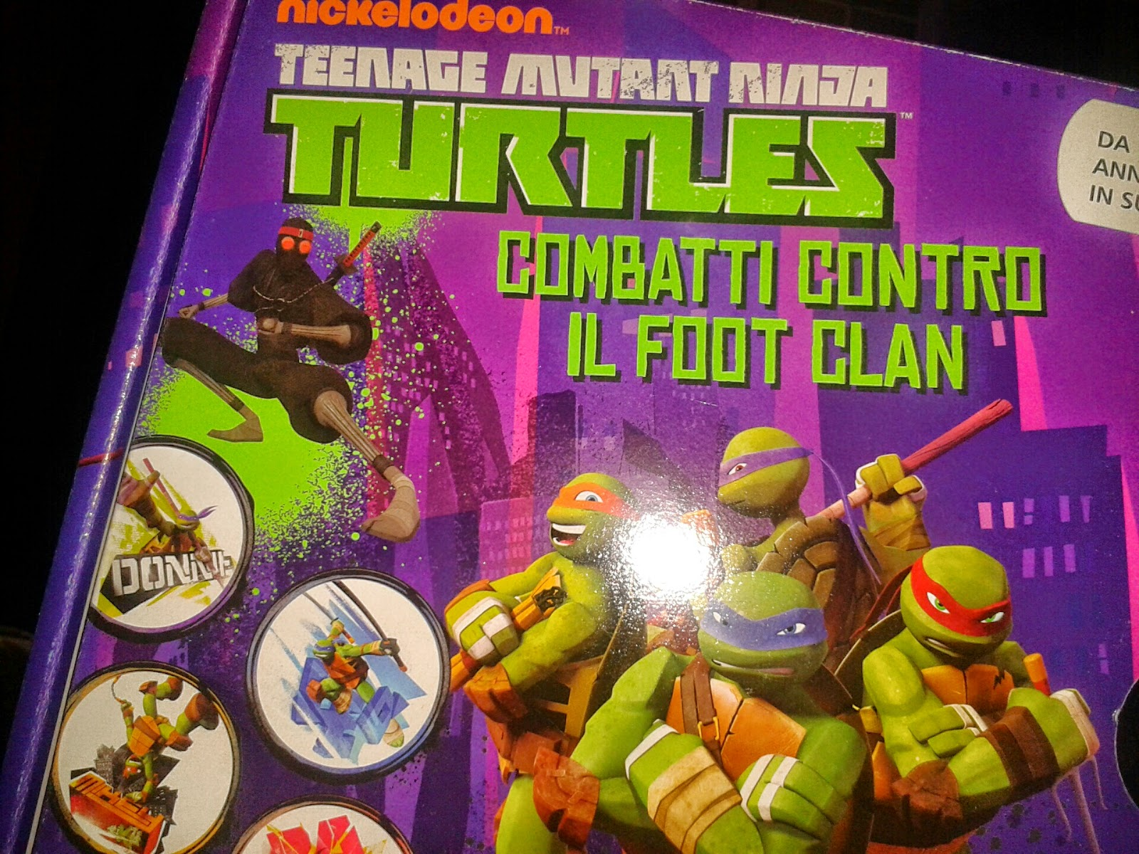 ninja turtles mutant game lisciani