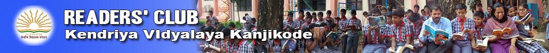 Readers Club - Kendriya Vidyalaya Kanjikode