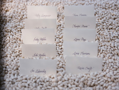 place cards for wedding tables