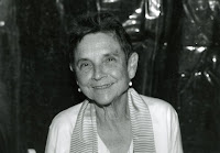 Adrienne Rich black and white picture