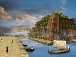 สวนลอยแห่งกรุงบาบิโลน อิรัก