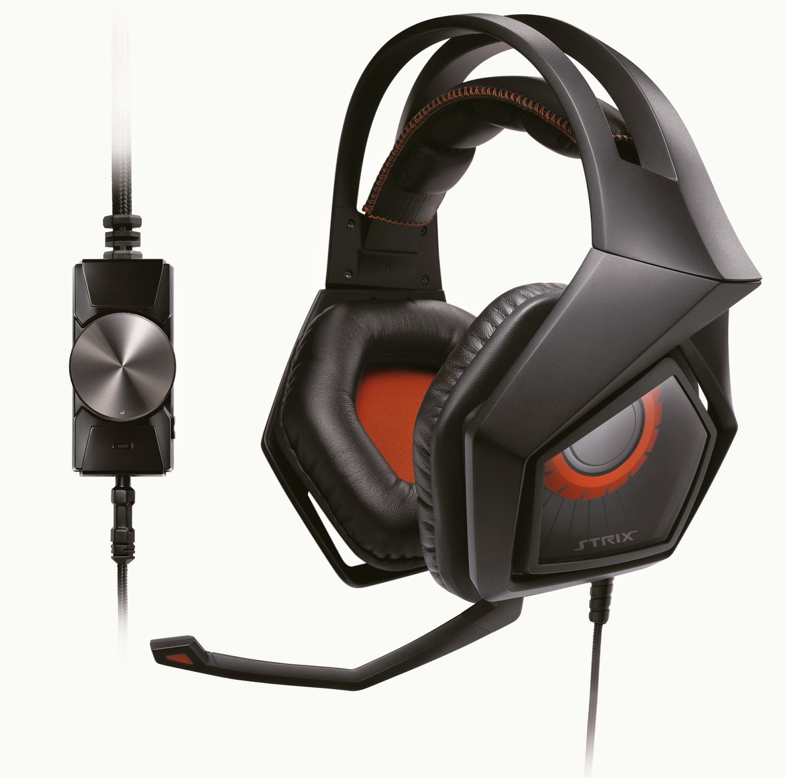 the first headset i got to try out was the strix pro a mid ranged headset with a detachable microphone volume control switch