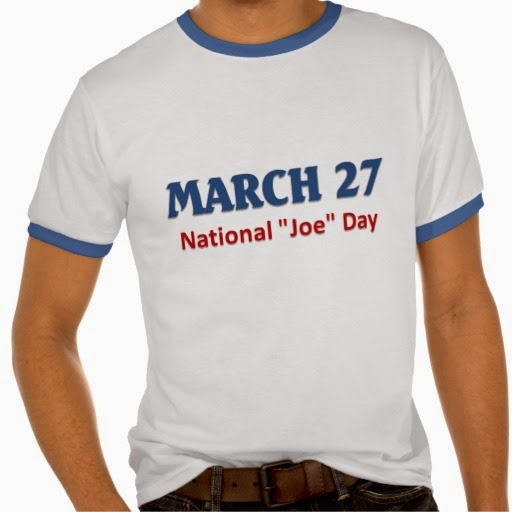 Happy National Joe Day