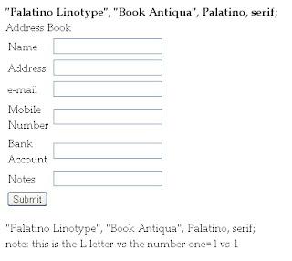 palatino linotype, book antiqua, palatino, serif