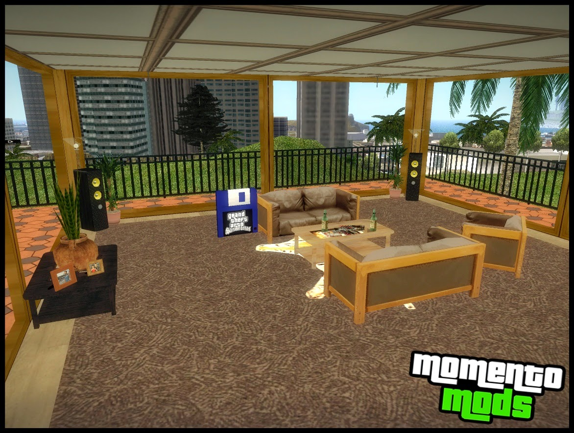 gta sa beta melhorada vinewood safe house v2 momento. Black Bedroom Furniture Sets. Home Design Ideas