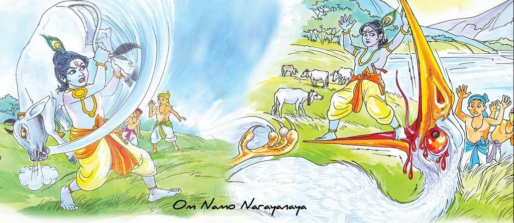 கண்ணன் கதைகள் (38) - பகாசுர, வத்ஸாசுர வதம்,கண்ணன் கதைகள், குருவாயூரப்பன் கதைகள்,