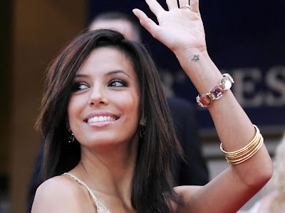 eva longoria star tattoo