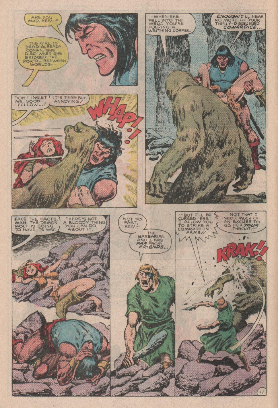 Conan the Barbarian (1970) Issue #178 #190 - English 12