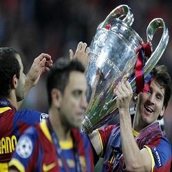 Foto Messi Juara