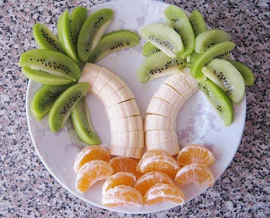 A Simple Creative Fruit Decoration