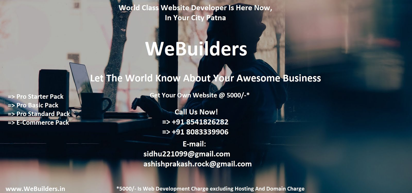 WeBuilder - Web Developer