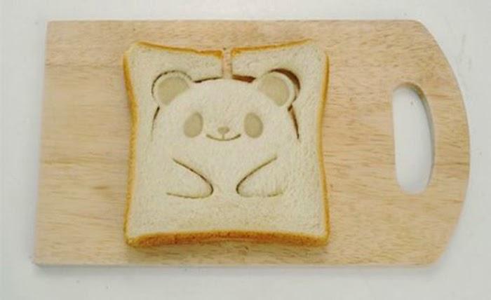 Teddy Bear Toast Stamp For Cute looking Breakfast