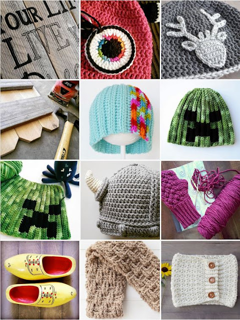 Crochet accessories from Over The Apple Tree on Instagram