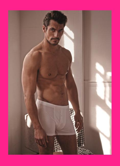 David Gandy's Autograph Underwear