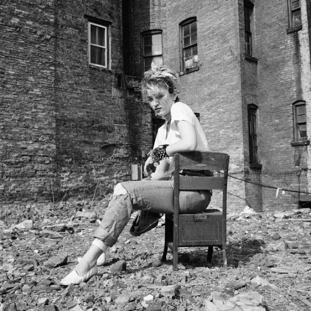 Мадонна в молодости