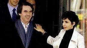 Aznar, padre del hijo de una ministra política francesa