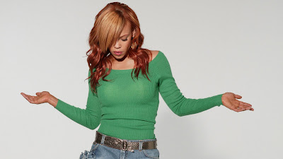 Sexy Faith Evans Wallpaper