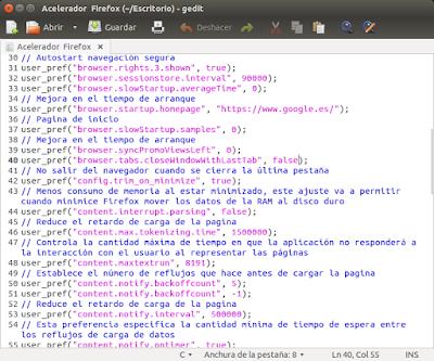 Acelerador Firefox