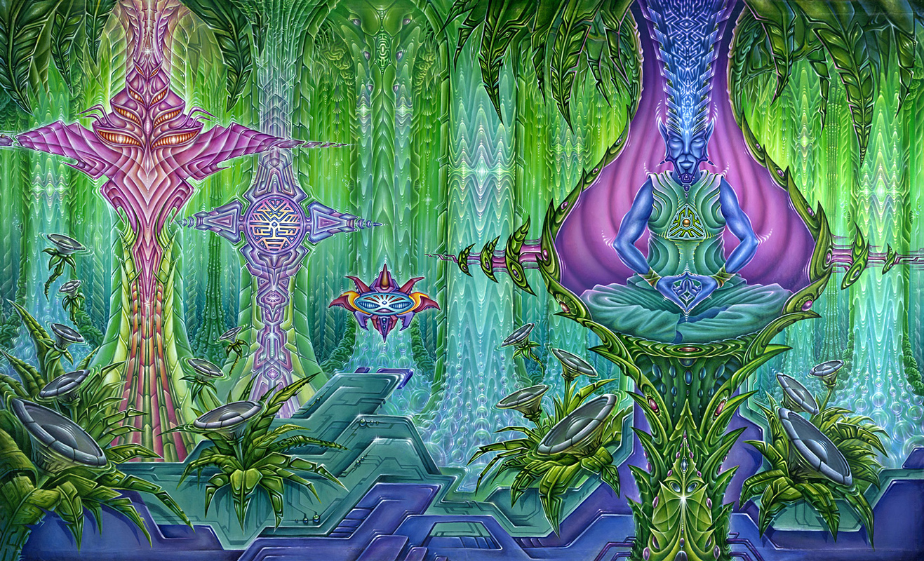 hd wallon: Trippy Wallpaper Art