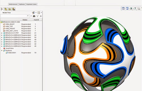 Tuorial: How to create a soccer football like the never before seen Brazuca!