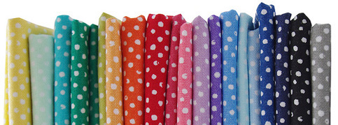 Confetti Dots fabric by Dear stella - in a rainbow of colors