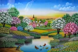 La magia de la pintura naif