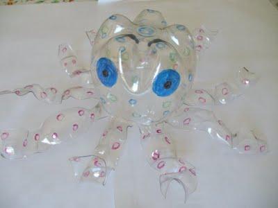 Bottiglie di plastica lavoretti per bambini la favola