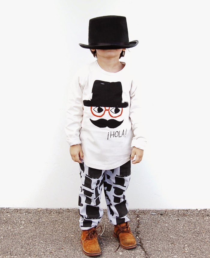 Little Cocoa Bean pre-spring 2015 - hat print