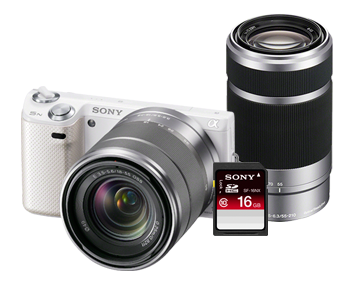 sony nex-5n bundle discount