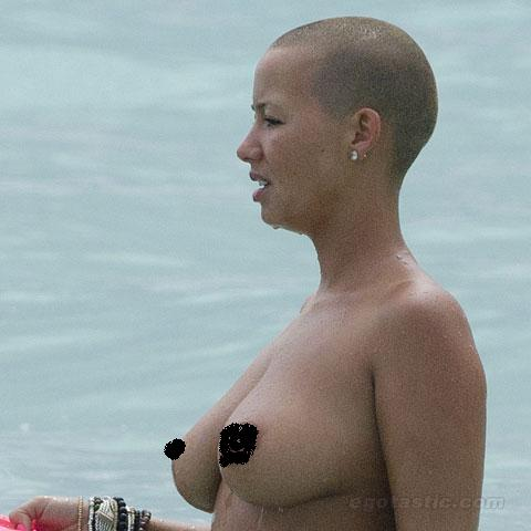 amber rose beach kanye. kanye west and amber rose