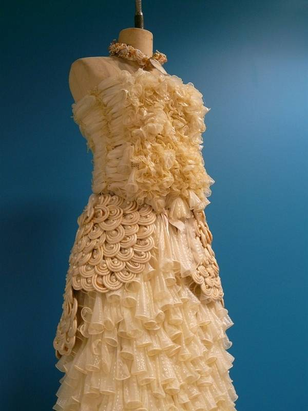 Dresses Made From Condoms