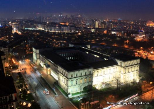 nightviewofITUbuildingsinIstanbulnearTaksim - Beautiful Istambul............!!!