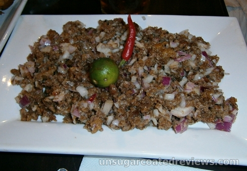 Pork Sisig at Packo's Grill