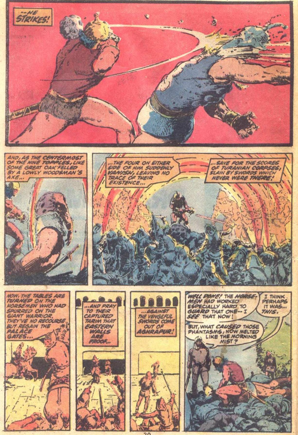 Conan the Barbarian (1970) Issue #19 #31 - English 22